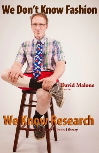 Image by CSB/SJU featuring Librarian, David Malone.