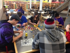 SRRHA Students engaged in a makerspace program. Image provided by Maria Burnham.
