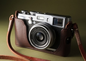 Fuji X100 with Gordy's Camera Strap