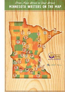MN Writers Map