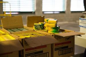 NCPD packs school supplies