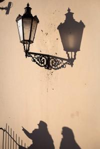 shadows in Prague