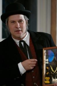 Brian Ellis as Charles Darwin