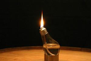 Flaming Lightbulb