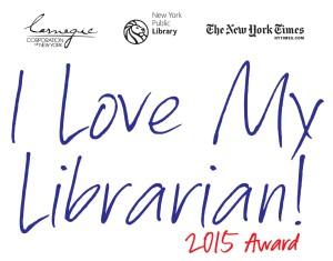 I Love My Librarian Award 2015