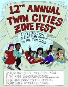 Fox-TwinCitiesZineFest-poster