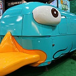 Perry the Platapus van